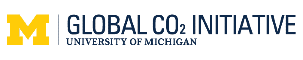 Global CO2 Initiative at the University of Michigan logo